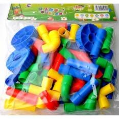 Beli Block Pipa 43Pcs Mainan Edukasi Puzzle Lego Brick Online Indonesia