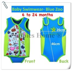 Harga Biru Kids Thermal Swimwear Snorkeling Menyelam Tetap Hangat Swimsuits Swimming Suit Wear Bermain Olahraga Air Aktivitas Kehidupan Anak Rompi Float Balita Bayi Boy Gadis Kartun Intl Intl Yang Bagus