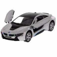 Harga Bmw I8 Silver Diecast Miniatur Mobil Mobilan Sedan Sport Mainan Anak Cowok Kinsmart Yang Murah