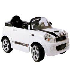 BMW Mini Cooper Mobil Mainan Aki Junior W446EQ White