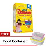 Jual Beli Bogo Dancow Advanced Excelnutri 5 Usia 5 12 Tahun Vanila 800Gr Gratis Food Container Di Indonesia