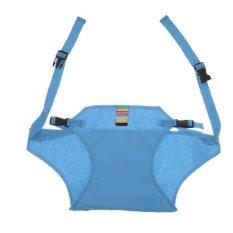 BolehDeals Adjustable Baby Sabuk Kursi Makan Sabuk Pengaman Makan Harness Sky Blue-Intl