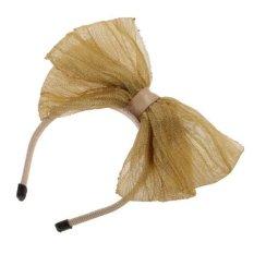 Bolehdeals Lucu Ikatan Simpul Karet Rambut Ikat Kepala Alice Tali untuk 1/6 BJD Sd Luts Boneka Khaki-Internasional