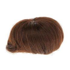 Bolehdeals Fashion Rambut Wig Pendek Sopak untuk 1/3 BJD SD LUTS Boneka Membuat & Perbaikan-Internasional