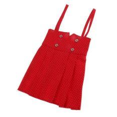 Bolehdeals Merah Burik Tali Ikat Gaun Gaun Rok Pakaian untuk 1/3 Boneka BJD Sd-Internasional