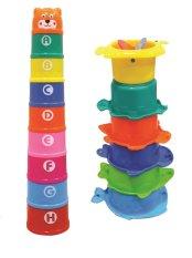 Diskon Besarbonbon Set Mainan Susun Anak Huruf Dan Angka Stack Toy For Kids Fun
