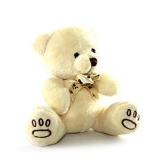 Boneka Anak Beruang Dengan Pita Menggemaskan