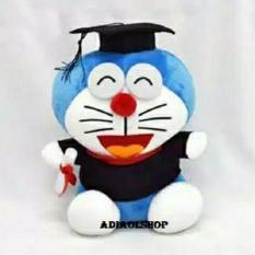 Boneka Doraemon // Boneka Wisuda // Boneka Toga ukuran 30 cm