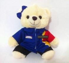 Boneka Indomaret Kostum Seragam Pramuniaga 22Cm Teddy Bear
