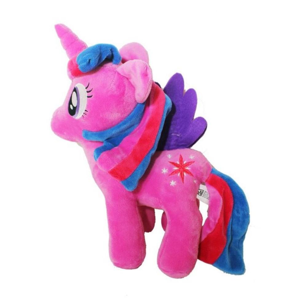 Boneka Kuda Poni My Little Pony Karakter High Quality (Pilih Sesuai Warna  di dropdown warna fa27b4d316