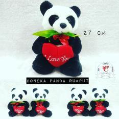 Boneka Panda M love bagus