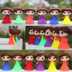 Bounce Jumping Wayang Anak-anak Mainan Bayi Mainan Boneka Kid Push & Down Doll-Intl