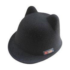 Boy Girl Magic Wol Bayi Winter Cat Ear Warm Hat Memuncak Cap-Intl