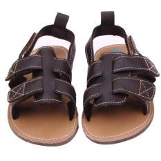 Ongkos Kirim Bayi Laki Laki Anak Sandal Kulit Lembut Anti Slip Prewalker Sepatu Kopi Di Hong Kong Sar Tiongkok