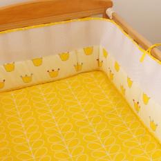 Toko Bahan Mesh Bumper Bayi Untuk Perlindungan Bayi Kuning Crown International Termurah