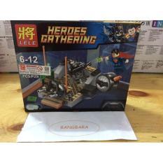Brick Lego Lele 79297 Batman Vs Superman 104Pcs - B67C95 - Original Asli