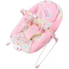 Bright Starts Pretty In Pink Flutter Dot Bouncer Music Vibrate Indonesia