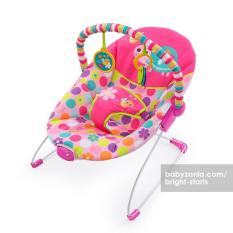 Beli Bright Starts Pretty In Pink Safari Bouncer Vibrate Terbaru