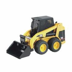 Bruder Toys 2431 Cat Skid Steer Loader Mainan Anak - Kuning