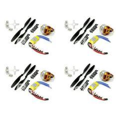 BRUSHLESS MOTOR A2212 1000KV+PROPELLER 1045+HP 30A BRUSHLESS ESC - U2WH6S