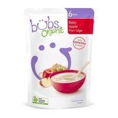 Bubs Organic Baby Apple Porridge 6+ Months 125g Australia