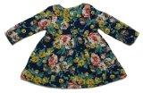 Promo Toko Buguncu Dress Coat Navy Flower Anak Perempuan