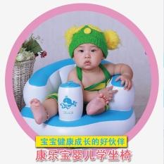 Built In Pump READY STOCK Bath Seat Baby Inflatable Kursi Sofa Bermain Anak-anak-Intl