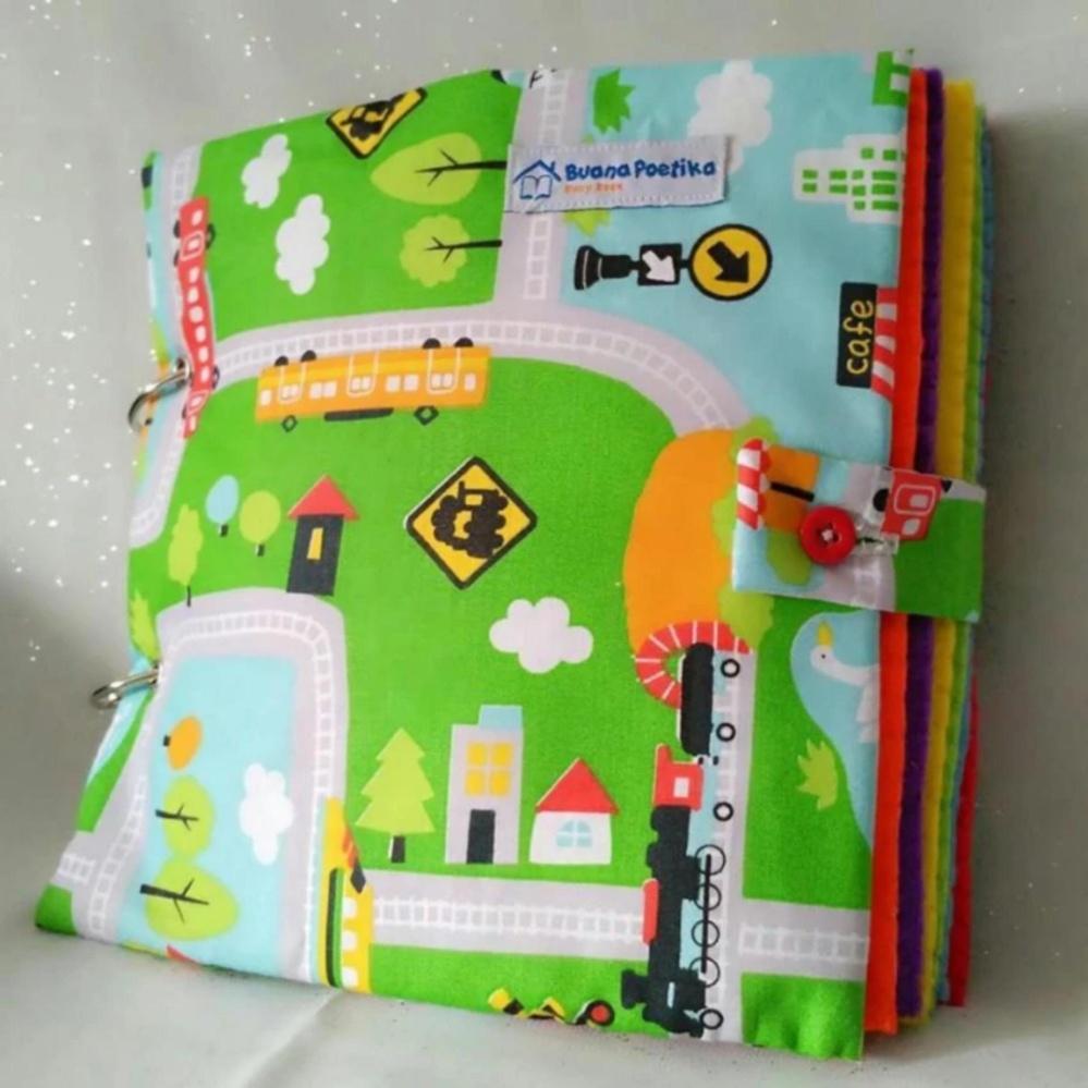 Buku Anak Busy Book 12 Halaman