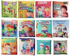 Harga Buku Kainku Paket Buku Kain Soft Book Seri Anak Muslim 12 Pcs Fullset Murah