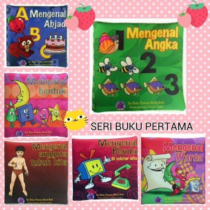 Buku Kainku Paket Buku Kain / Soft Book - Seri Buku Pertama 6 pcs