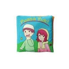 Buku Kainku / Soft Book / Cloth Book / Washable Book - Puasa Yuk