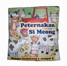 Tips Beli Buku Kainku Soft Book Peternakan Si Meong