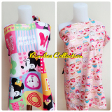 Jual Bumbee Collection Apron Menyusui 2 Motif Minie Mouse Cupcake Bumbee Collection Grosir