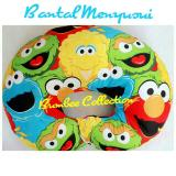 Review Bumbee Collection Bantal Menyusui Motif Elmo Terbaru