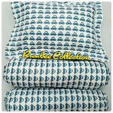 Beli Bumbee Collection Set Sarung Bantal Guling Bayi Motif Mobil Biru Online Indonesia
