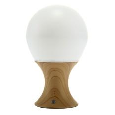 BUREI Jamur Kayu Grain Colorful Night Light Portable SiliconeLEDNight Lampu dengan Hangat Putih. 7-Color Flashing dan 3 OptionalTimerBest Hadiah untuk Kamar Bayi. Kamar Tidur. Nursery. Outdoor (Kuning)-Intl