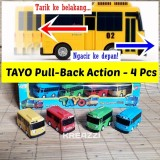 Jual Beli Online Bus Tayo Pull Back 4 Pcs Tayo The Little Bus
