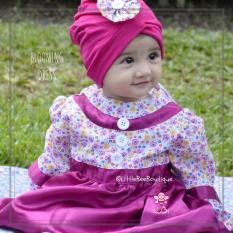 Daftar Harga Busana Pesta Bayi Muslim Blooming Baby Dress 6 12 Bulan By Little Bee Boutique Elbi
