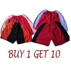 Buy 1 Get 10 Celana Bayi Celana Anak Kaos Umur 1-3 Tahun