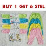 Jual Buy 1 Get 6 Baju Bayi Panjang Setelan Baju Bayi Perlengkapan Bayi Online
