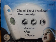 CADI CLINICAL EAR & FOREHEAD THERMOMETER