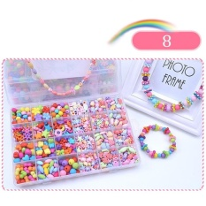 Permen Warna Diy Wear Beads For Bracelet Kids Mainan Geometris Bentuk Pen Promosi Jigsaw Puzzle-Intl By Super Babyyy.