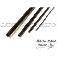 Carbon Spar Solid Rod 1Mm 500Mm 50Cm - 9Dada6 - Original Asli