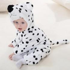 Kartun Bulu Karang Baru Lahir Baju Terusan Bayi Baju Kostum Bayi Hewan Keseluruhan Musim Dingin Hangat