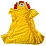 Dimana Beli Kartun Anak Anak Flanel Handuk Berkerudung Kuning Singa Oem