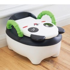 Cartoon Potty Baby Plastic Toilet Seat Portable Potty Folding Chair Cute Pumpkin Drawer Training Infant Potty Children's Toilet