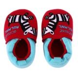 Jual Kartun Hewan Merah Pola Sepatu Bayi Elastis Band Soft Pertama Walker Sepatu