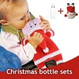 Jual Kartun Santa Claus Feeding Bottle Holder Pelindung Cover Panas Isolasi Hadiah Intl Oem Original
