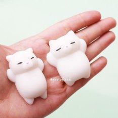 Cat Kitten Mochi Licin Squeeze Healing Mainan-Internasional