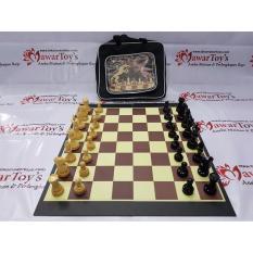 Catur Hardboard Kayu Premium Merk Adam Chess (ORIGINAL)